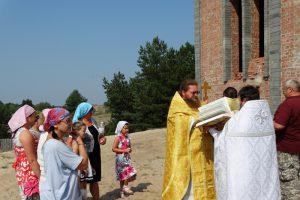 Первая литургия в храме святителя Николая Рождественского 11