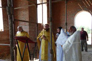 Первая литургия в храме святителя Николая Рождественского 13