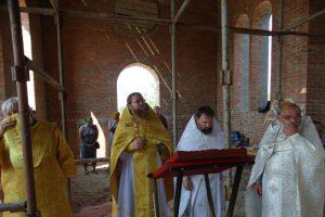 Первая литургия в храме святителя Николая Рождественского 14