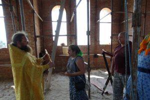 Первая литургия в храме святителя Николая Рождественского 16
