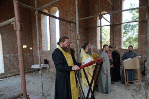 Первая литургия в храме святителя Николая Рождественского 2