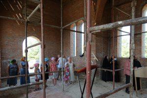 Первая литургия в храме святителя Николая Рождественского 6