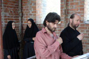 Первая литургия в храме святителя Николая Рождественского 8