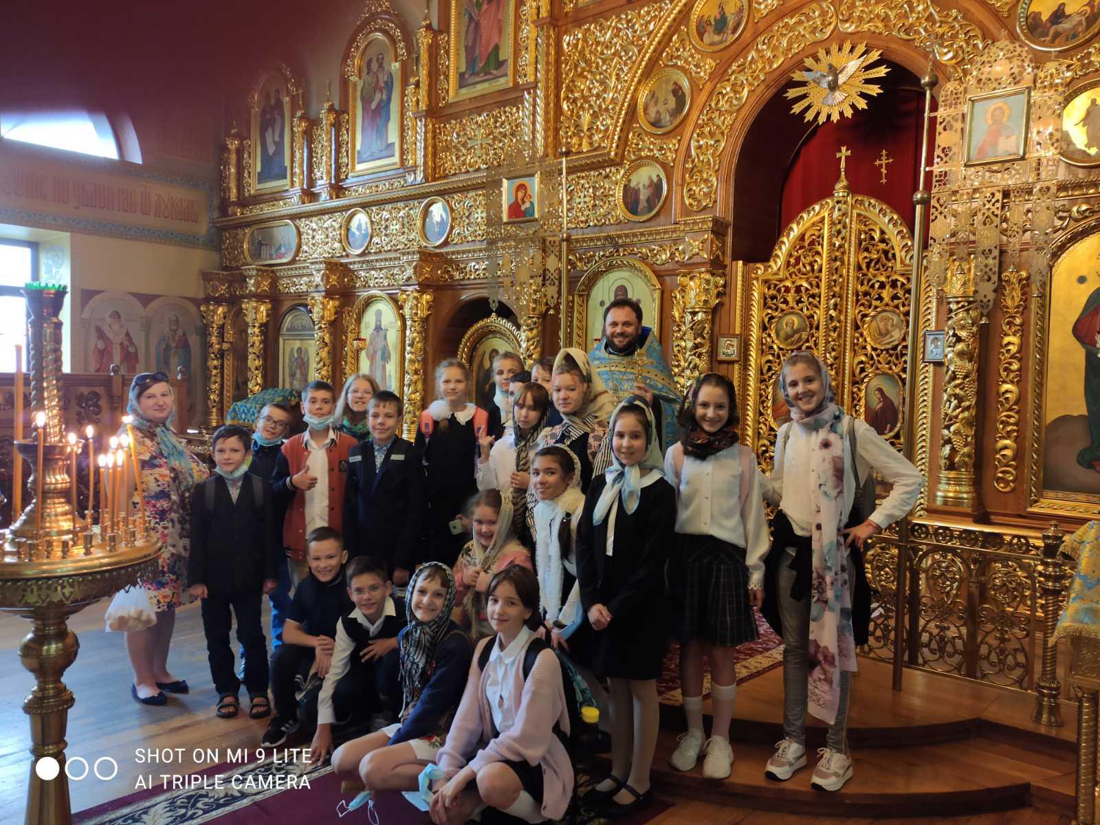 (Українська) Відвідання храму